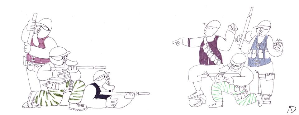 Swat and Terrorist